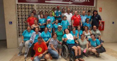 Organizan un concurso de pesca para personas discapacitadas