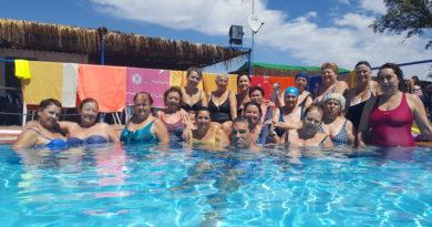 Los cursos de Acuaerobic finalizan con 41 participantes