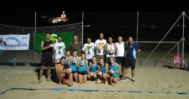 El VI Torneo de Vóley Playa contó con 16 parejas participantes