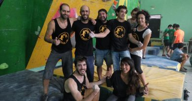 El Grupo de Escalada de Coria participó en una competición en Cabezuela del Valle