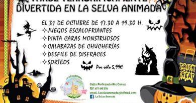 La Selva Animada organiza una tarde terrorífica para celebrar Halloween