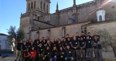 15 alumnos se forman en la Escuela de Jardinería de Coria