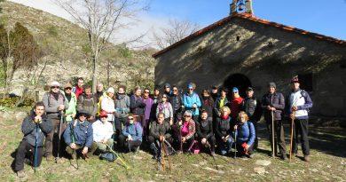 "46 senderistas se dieron cita en la ruta ""Acebo-Puerto de Castilla-Gata"""