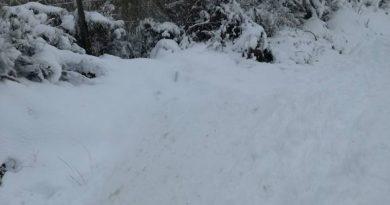 El 112 activa el nivel amarillo por nevadas en el Norte de Cáceres