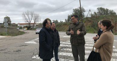 Ballestero asegura un avance en la negociación de las obras de mejoras de las entradas a Coria