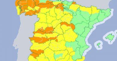 La Borrasca Gisele pone en alerta a la región extremeña