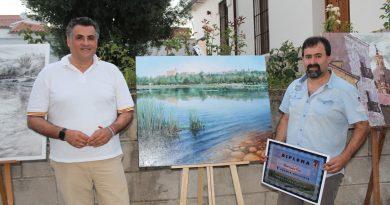 Un gallego gana el concurso de dibujo y pintura al aire libre