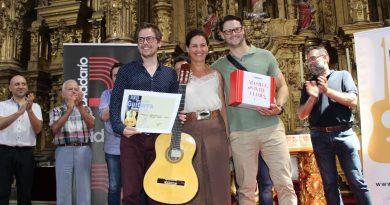El francés François-Xavier Dangremont gana el concurso del Festival Internacional de Guitarra
