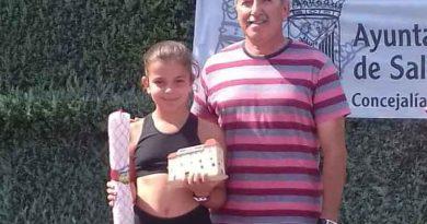 La cauriense Patricia González gana el Torneo de Tenis de las ferias  y fiestas de Salamanca