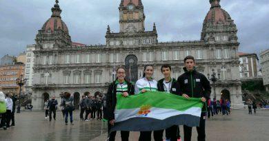 Cuatro  caurienses participaron en el Campeonato de España Escolar de Orientación