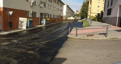Continúan con el asfaltado de calles