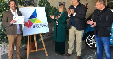El Polígono Industrial  Los Rosales dispone ya de nuevo logotipo