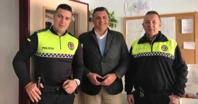 Javier Cuenca  nuevo Jefe de Policía Local
