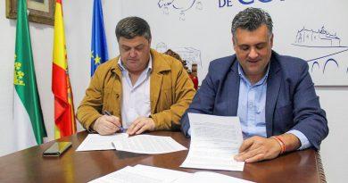 Los Ayuntamientos de Coria y Cilleros acuerdan mejorar los servicios sociales