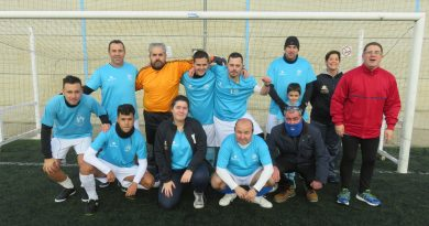 Una convivencia de fútbol recoge más de 200 kilos de alimentos para Cáritas