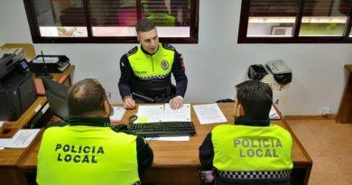 La Policía Local realizará una campaña de control de velocidad en el Casco Urbano