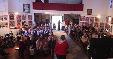 Personas con Discapacidad celebraron una convivencia el sábado en la Ermita de Argeme