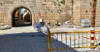 Finalizan las obras  del cambio de pavimentación del Casco Histórico
