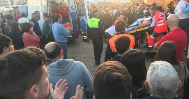 Dados de alta los 3 forcados y el recortador que sufrieron percances en la Feria del Toro