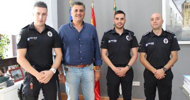 Dos nuevos agentes se incorporan a la Policía Local de Coria