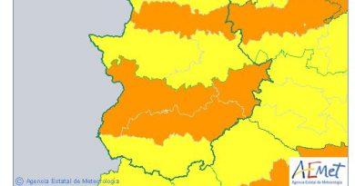 Alerta Naranja por calor para este lunes