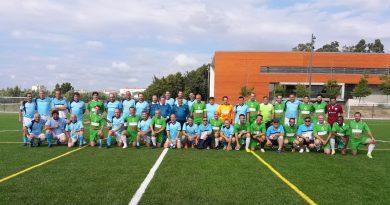Los Veteranos Caurienses celebran una convivencia de fútbol en Aveiro