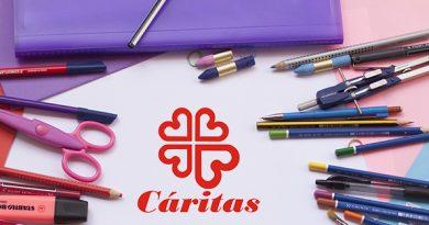 Cáritas amplía su campaña de recogida de material escolar hasta el 22 de septiembre