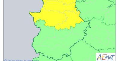 Alerta Amarilla por viento en el Norte de Cáceres