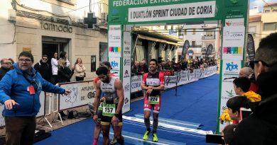 """150 duatletas se dieron cita en el I Duatlón Sprint """"Ciudad de Coria"""""""